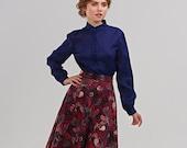 Women Skirt,  A Line Skirt, Full Skirt, Pleated Skirt, Circle Skirt, 1950's Skirt, Vintage Style Skirt, Retro Skirt, Midi Cocktail Skirt
