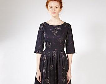 136da774d7e20 1950 robe de cocktail 1950 formelle robe mère de mariée robes bas dos  Womens robe robe de dames à la main