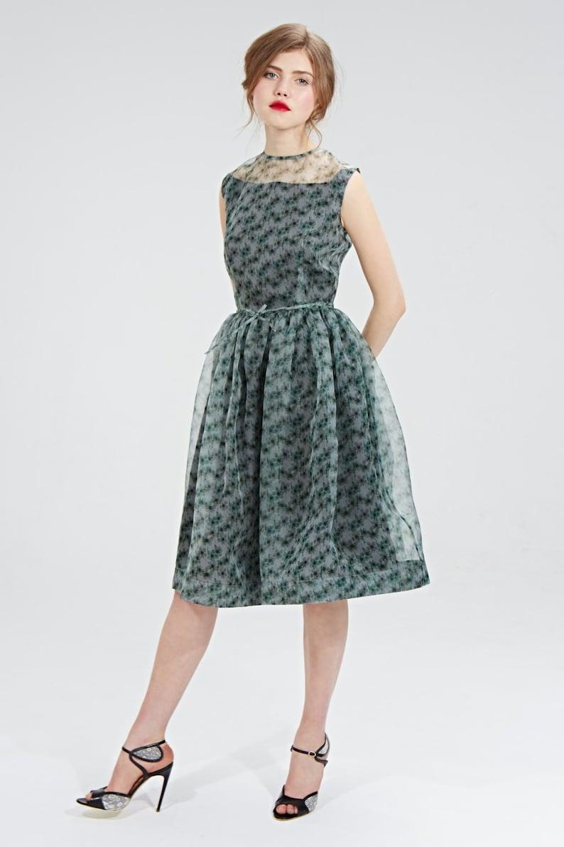 f41ade70094 Women Dress Silk Dress Flare Dress Bridesmaid Dress Midi