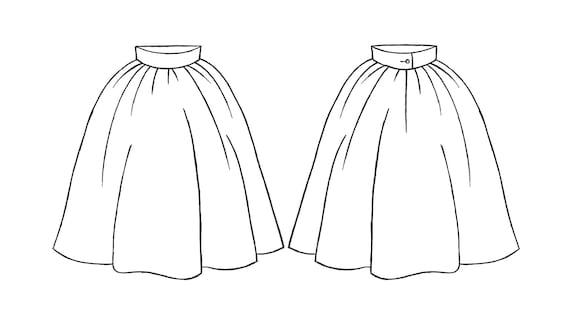 Skirt Black Skirt and Retro Skirt 50s Fit skirt Skirt 1950s Skirt Black 50s Skirt Silk 1950s Summer Flare Skirt Floral Ball wx7Zq4R6C