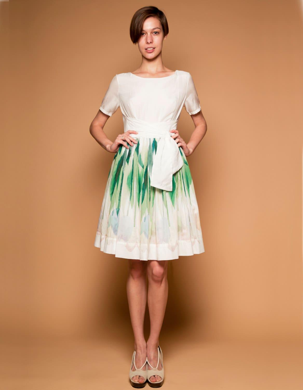 Kurzes Hochzeitskleid Pastell Hochzeitskleid einfache