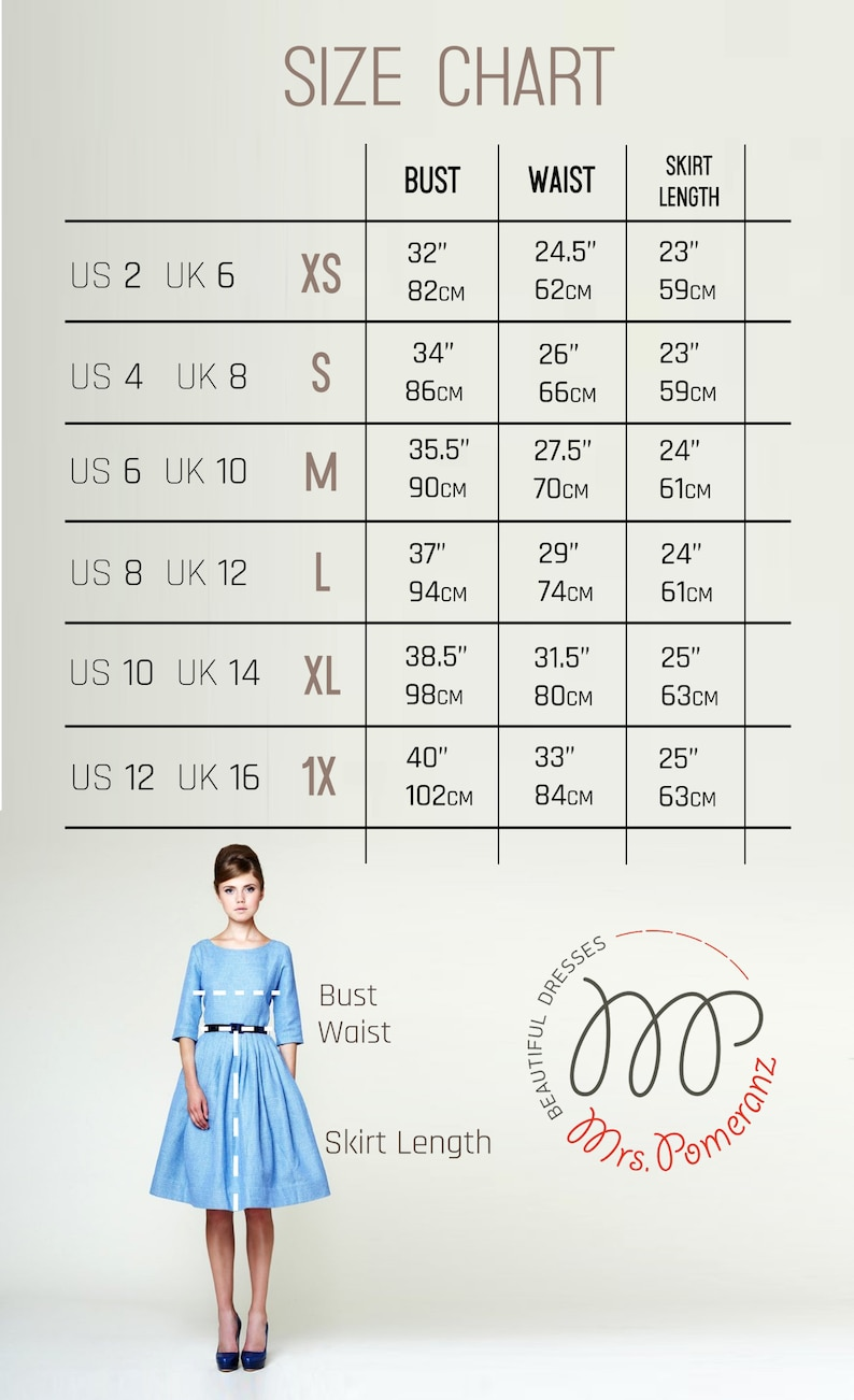Pleated Blue Linen Dress Cocktail Dress Party Dress Casual Wedding Dress Pin Up Dress Plus Size Clothing Swing Dress 1950/'s Dress
