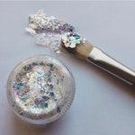 DiscoEyes *Glide-On* Glitter~ Opal Gel Glitter \ Chunky Glitter \ Festival \ Rave \ Party \ Glitter Gel \ Ships Next Day