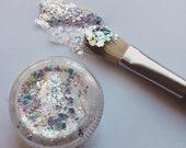 Cosmetic Glitter, Glide-On Glitter Opal Gel Glitter, Chunky Glitter, Festival,Rave, Party, Glitter Gel, Ships Next Day