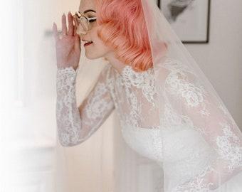 Turtle Neckline Bolero, Lace Turtle Bolero, Long Sleeve Bolero, Custom Bolero, Wedding Top, Lace Top, Lace Cover-Up, Bridal Bolero