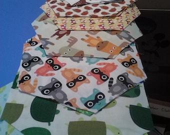 Custom Animals fabric bowl