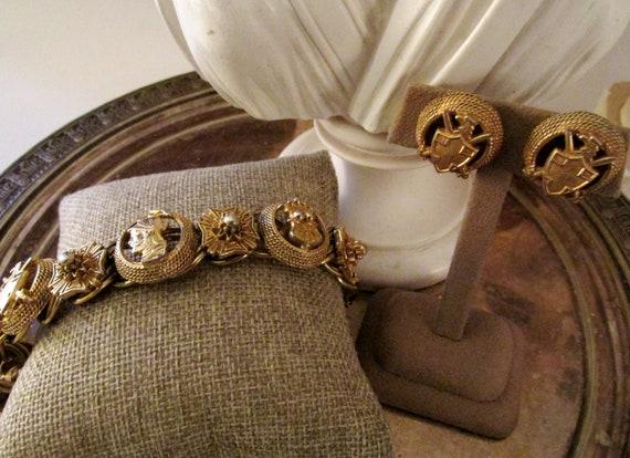 FLORENZA Coat of Arms Bracelet Set, Maltese, Royal