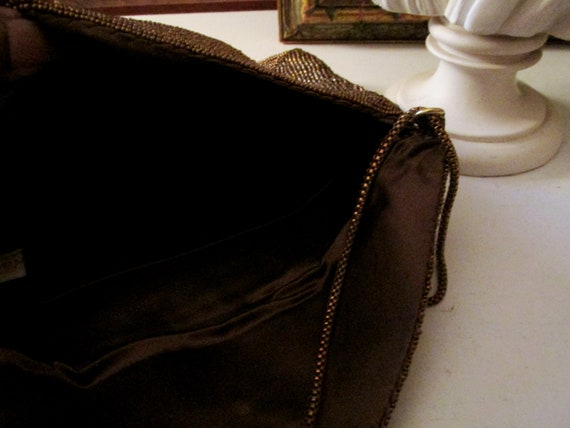 Vintage WALBORG Beaded Evening Clutch, Envelope S… - image 8