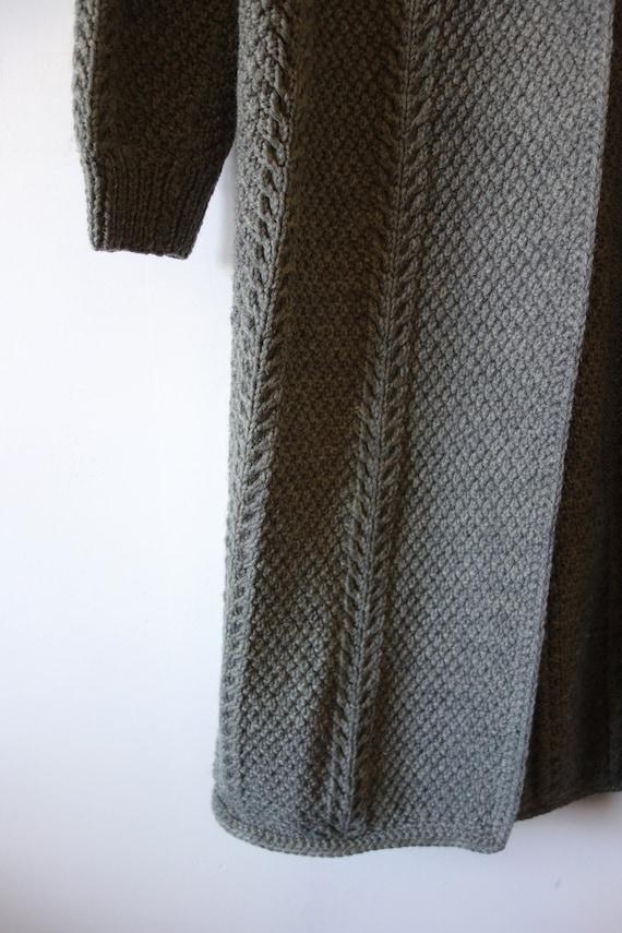Vintage Hand Knit Sweater Jacket - knit clutch co… - image 5