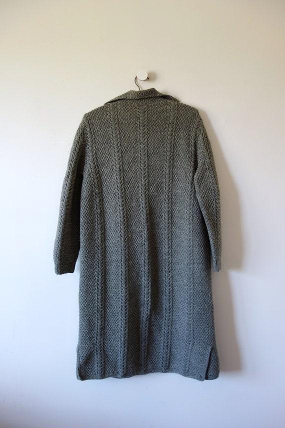 Vintage Hand Knit Sweater Jacket - knit clutch co… - image 3