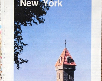 AAA New York State Road Map 1985  American Automobile Association