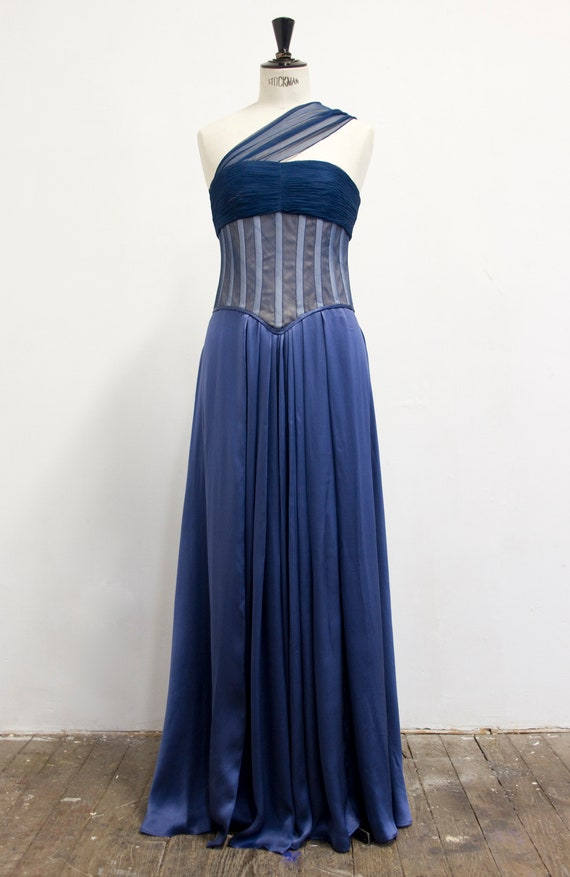piece 2 Silk Silk Evening Evening Gown wPXC7Tx