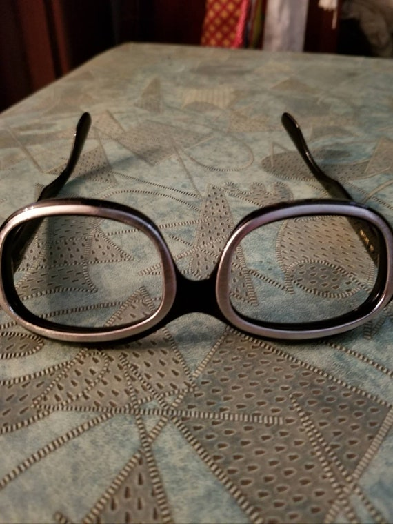 60s Mod deadstock French two-tone designer frames - image 5