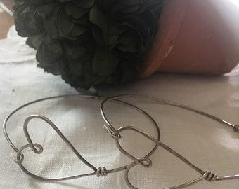Love Handmade Sterling Silver Bracelet
