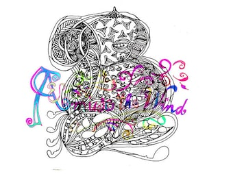 Coloring In Letter B