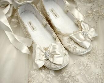 Bridal ballet flats  d8711a689