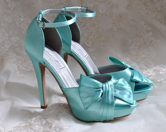 Wedding Shoes  FREE Custom Colors   Bridal Heels fa4cefa65825