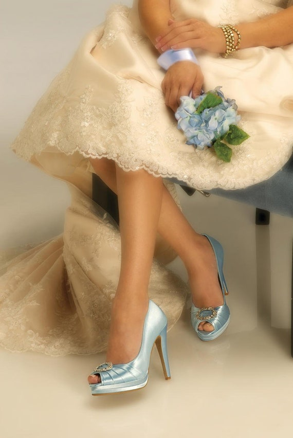 Wedding Bridal Shoes Free Custom Color Dye Service Platform Etsy