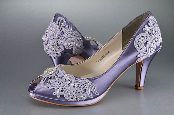 fcb2cbde0b4 Womens Wedding Shoes Vintage Lace Wedding Shoes Bridal