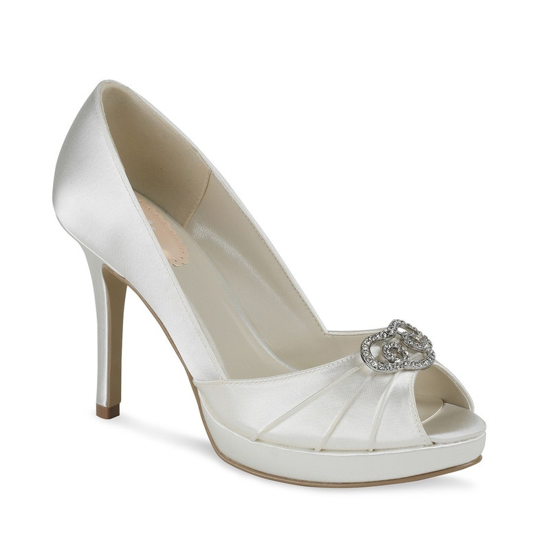 0c0dd2e728f Wedding Bridal Shoes FREE Custom Color Dye Service