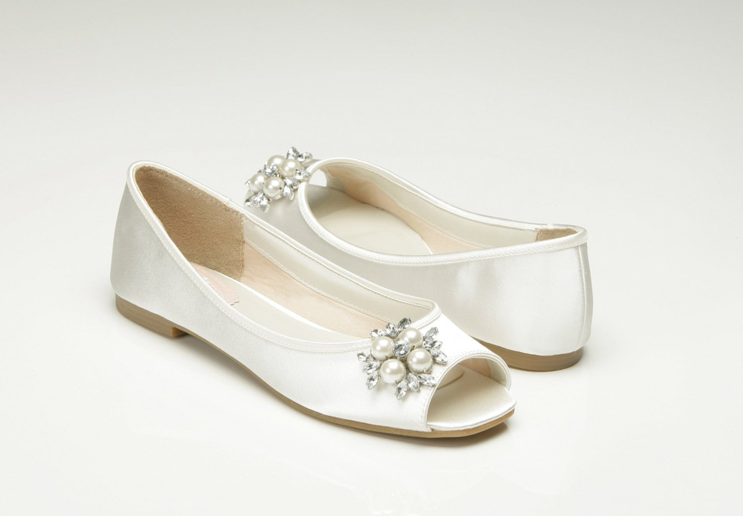 Ivory Color Wedding Shoes | Custom Color Colors Wedding Shoes Bridal Shoes Custom Colors