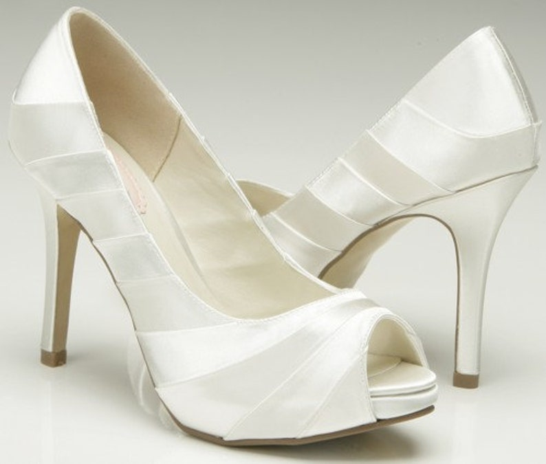 1a06a2107a3 Ladies Bridal Shoes Custom FREE Colors High Heel 3.75