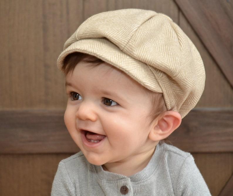 Baby Boy Newsboy Hat Accessory Baby Boy Hat Infant Newsboy Hat  5bbfac575027