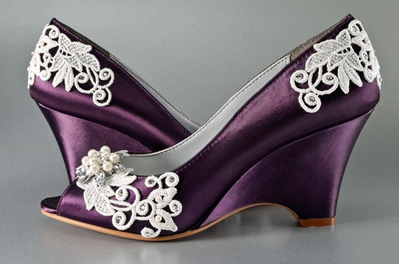 d1801dbf9b9e Wedding Shoes FREE Custom Colors Women s Bridal Brides