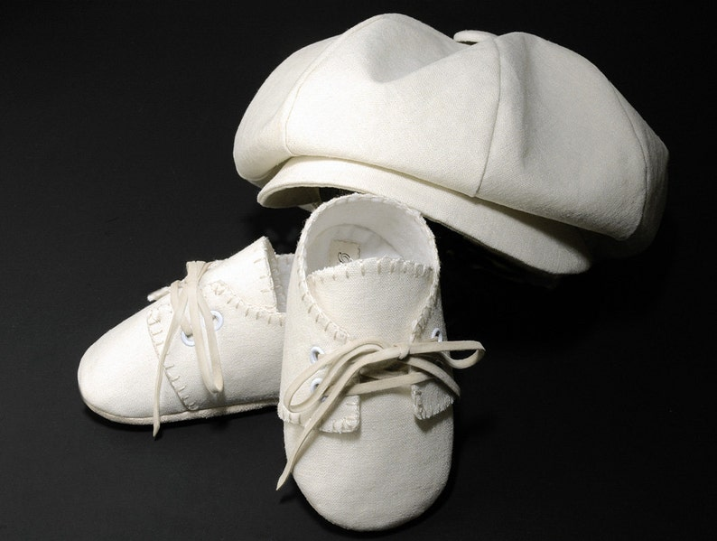 Fits Baby 0-6 Months. Baby & Toddler Clothing Careful Baby Christening Silk Hat Or Lace Shoes Or Boy Hat New