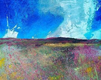 Summer / Fine Art Print / Giclee Print / Home Decor / Wall Art / UK Artist / Landscape Print