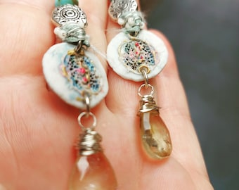 Unearthed - Artisan Crafted Earrings - OOAK