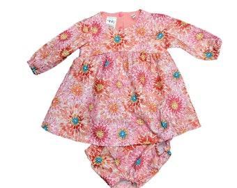 Infant Toddler Sailor Dress Sizes Newborn thru 24 Months Matching Bloomers