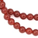 Carnelian Beads - 6mm Round
