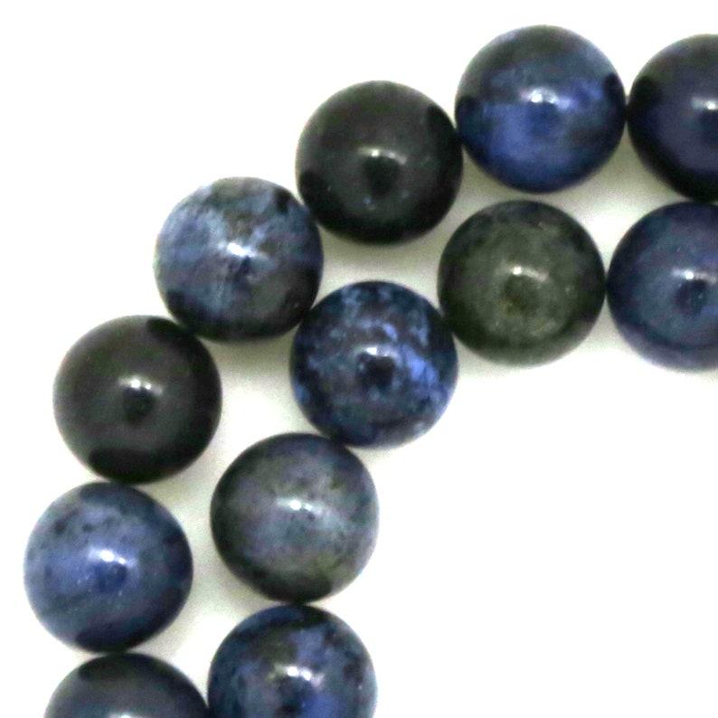 Dumortierite Beads  10mm Round image 0
