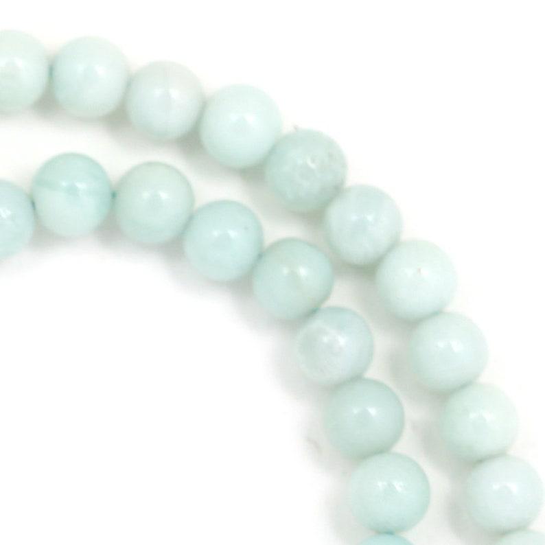 Amazonite Beads  6mm Round image 0