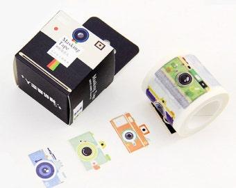 Camera Japanese Washi Tape Masking Tape decoration Tape