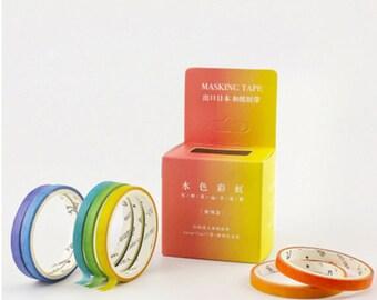 Japanese Washi Tape Masking Tape Planner Stickers