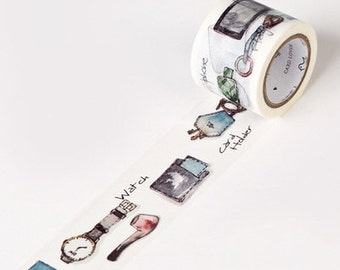 1 Rolls Washi Tape Masking Tape Planner Stickers