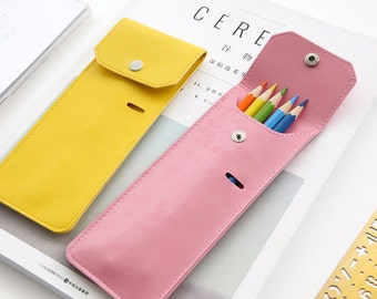 Cute PU Pencil Case -Pencil Pouch Receive Pouch