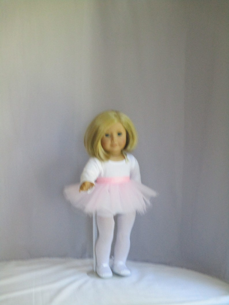 American Girl 2011 Ballet Outfit Tulle Pancake Tutu Skirt for Doll Only