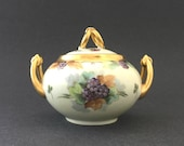 Antique Sugar Bowl Porcel...