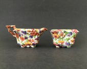 Chintz Creamer Sugar Set ...