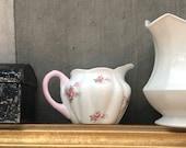 Porcelain Creamer Shelley Bridal Rose Fine China Tea Party Dining Decor
