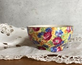 Vintage Floral Chintz Open Sugar Royalty by Royal Winton Grimwades England