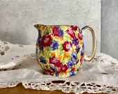 Vintage English Chintz Cr...