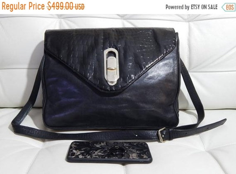 74a18307aeae Huge spring sale Free Shipping Authentic FENDI Bag Black