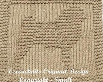 Knitting Cloth Pattern - PUG - PDF 18ce834e75