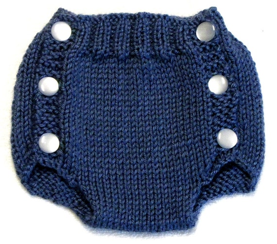 Diaper Cover Knitting Pattern PDF Small Instant Download