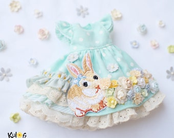 Blythe Fairy flowers Dress