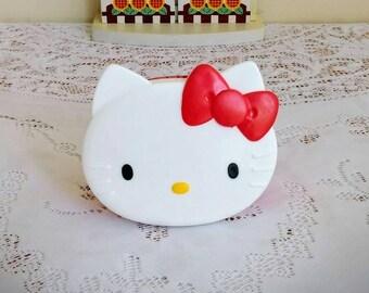 Vintage Hello Kitty - Collectible Hello Kitty Snack Container - Sanrio 1991